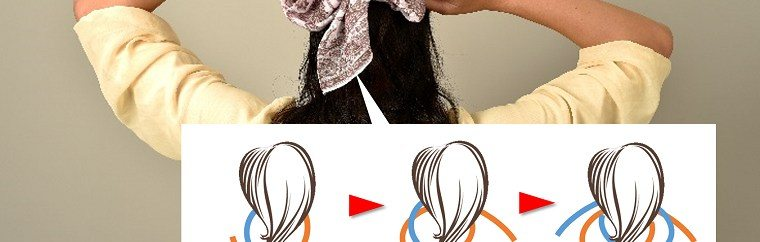 Enhance your stylishness with handkerchiefs! Check out great ways to add some tastes to your hair and bag!