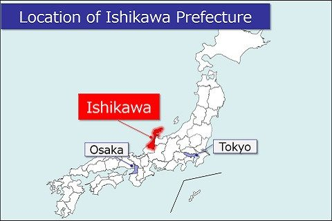 Heres A Recommended Route For Enjoying The Historical City Of - Japan map kanazawa