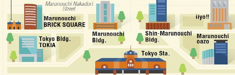 Feel the sophisticated air! Introducing a recommended route for a stroll through Marunouchi, Tokyo.