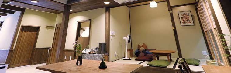"Staying in Kyoto? The newly opened ""Machiya Ryokan [Luck you]"" located in central Kyoto is highly recommended."