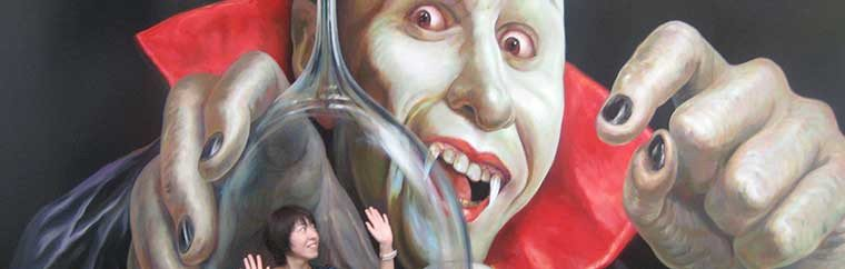 Strange fun at the 「Tokyo trick art museum」 in Odaiba! The artwork is constantly being updated!
