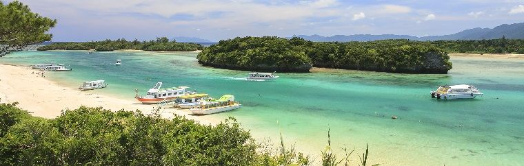 Enjoy Ishigaki Island's blue sea and sky to your heart's content!