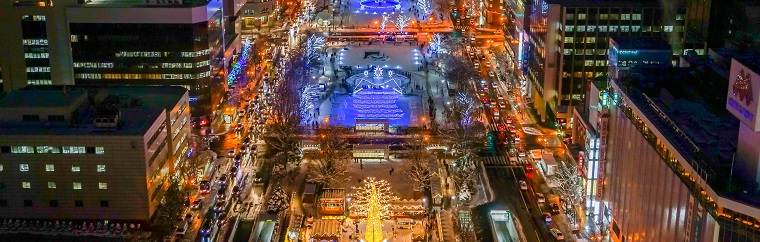 "The 36th annual ""Sapporo White Illumination"" will be held. This event has gained its popularity as ""Sapporo tradition"" in early winter."