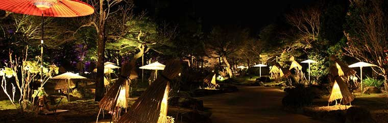 Yuushien Garden - Autumn and Winter Illumination