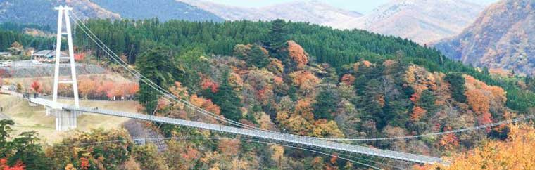 "Kokonoe ""Dream"" Great Suspension Bridge"