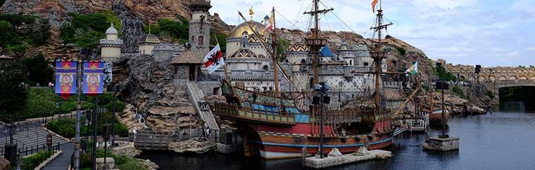 "Tokyo Disney Sea is a Disney theme park, based off of famous American animator Walt Disney's characters. Originally the park was just part of Tokyo Disney Land, but in 2001 Tokyo Disney Sea opened, built with the theme of ""ocean,"" and it is now its own separate park."