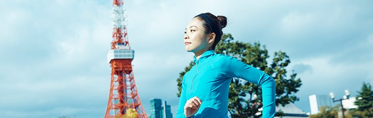 Run Through Tokyo's Main Sightseeing Spots!