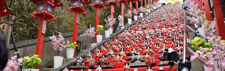 Recommended Event for Girls in Chiba! Katsuura Big Hina Matsuri