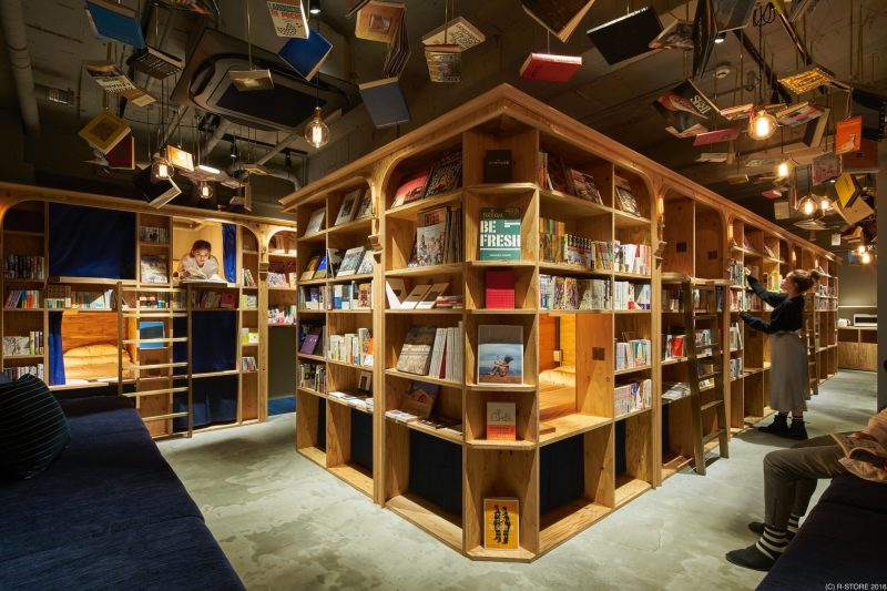 「BOOK AND BED TOKYO 京都店」