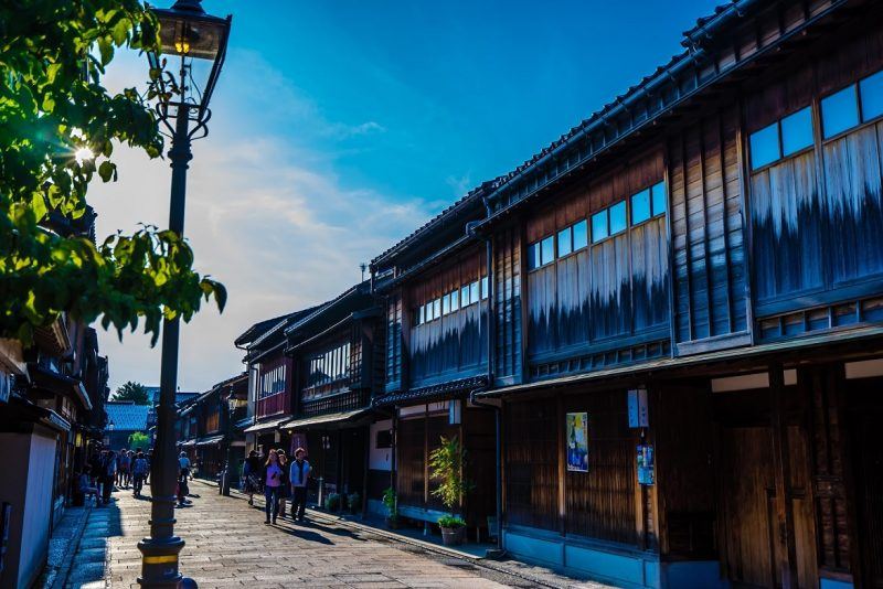[Higashi teahouse district]