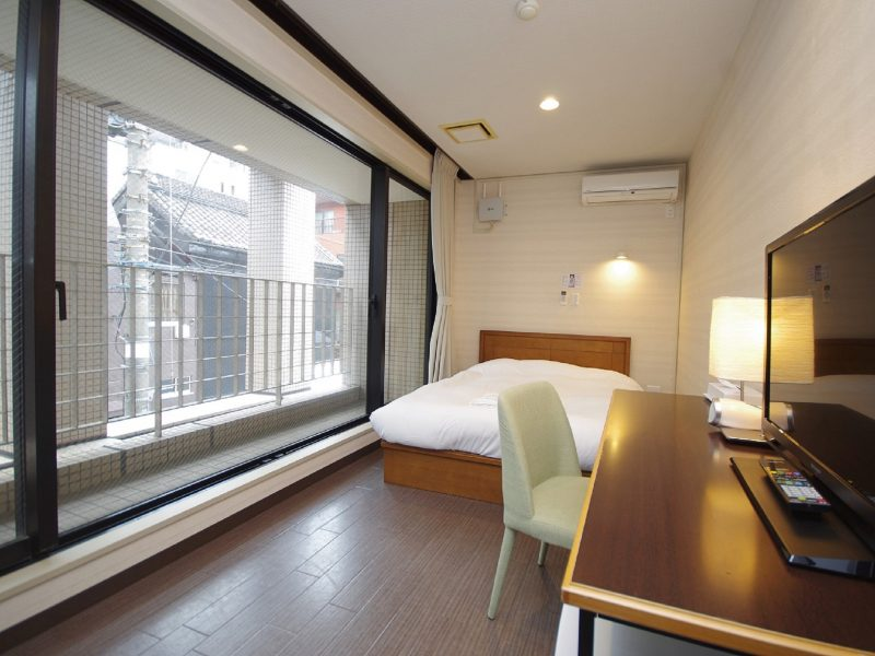 Double Bed Room (from 5,980 yen)