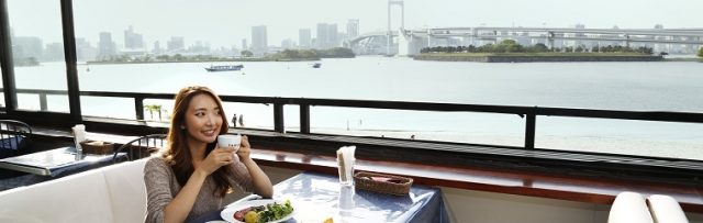 Take Toei transportation and get to Odaiba Bay Area with Tokyo Ocean view♪