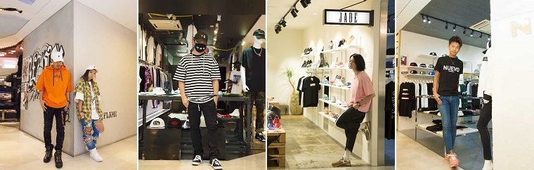 Great unisex looks from some of Shibuya 109MEN'S most popular shops!