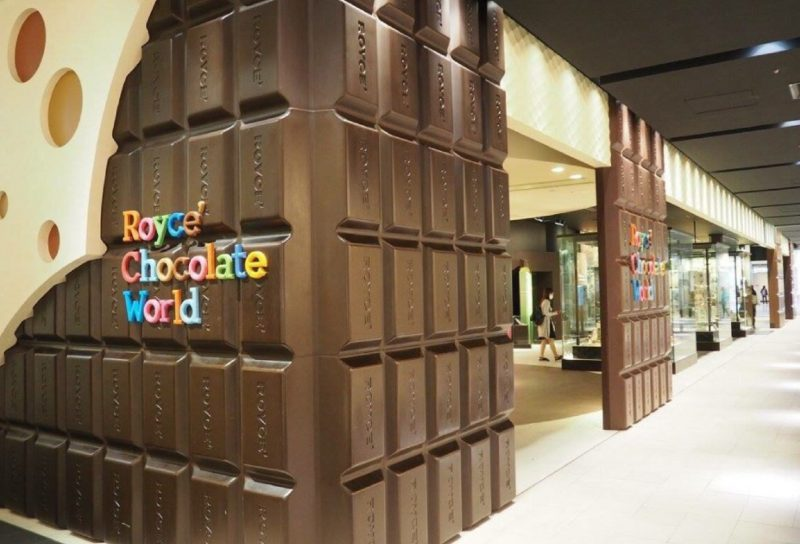 Royce Chocolate World, New Chitose Airport