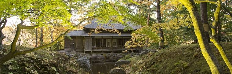 A Fall Foliage Viewing Spot in Hokkaido: Breathtakingly Beautiful Kosetsu-en, a Garden Constructed by a Magnate by the Name of Iwafune in the Meiji Period