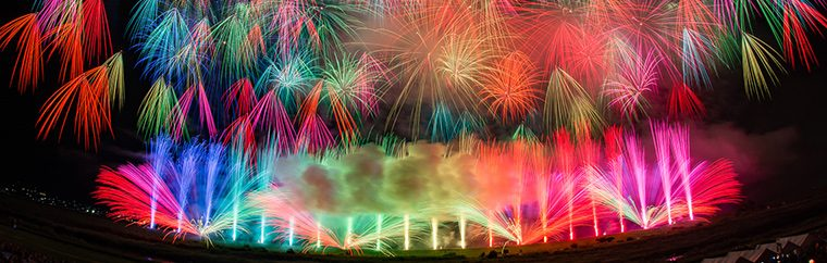 In August of 2018, a fireworks festival gathering the world's most prominent pyrotechnists will be held at Tokyo Bay! This novel event will breathe fresh life to one of the things reminiscent of summer in Tokyo: fireworks!