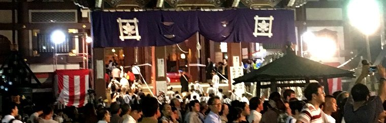 O-eshiki at Ikegami Honmon-ji (Ikegami Honmon-ji Temple), a Great Occasion at Summer Night
