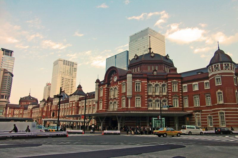 Tokyo Station, a Beautiful Brick Building Redolent of History