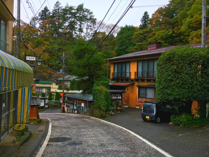 Tranquil resort of Sawatari Hot Spring