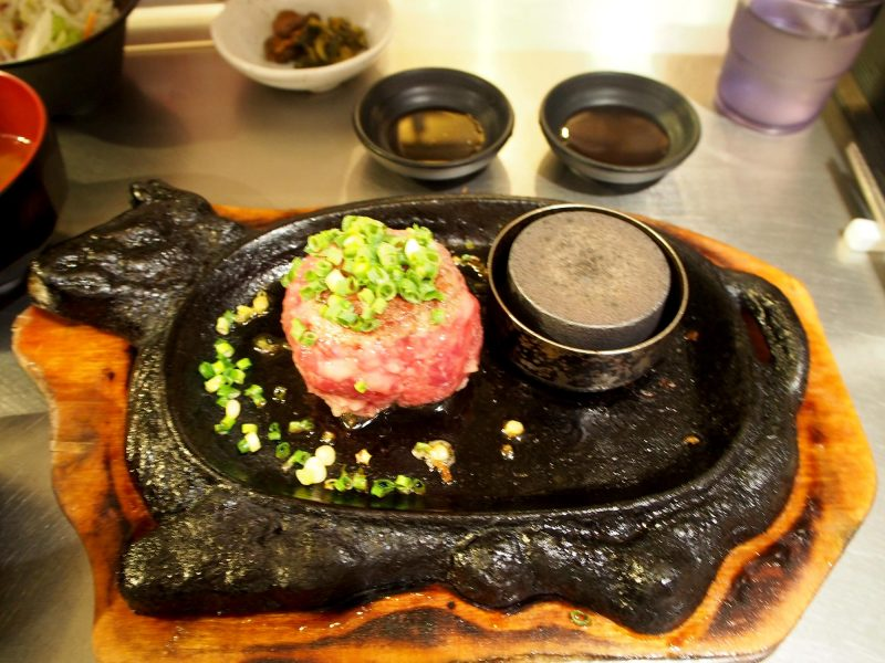 hamburger steak Small size 130g ¥880