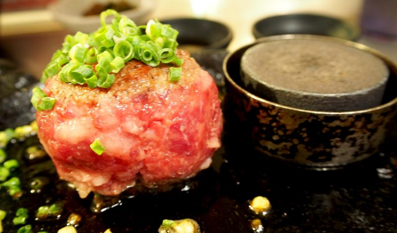 """Kiwamiya"" is the place to eat Imari beef hamburger in Fukuoka"