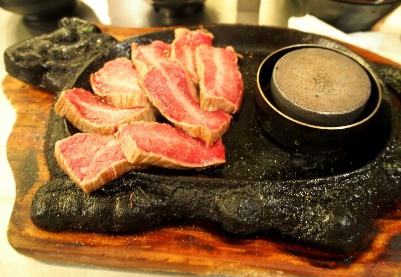 Kuroge Wagyu premium steak Medium size (120g)  ¥1,380