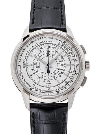 PATEK PHILIPPE 175th Anniversary Collection Multi Scale Chronograph 5975G