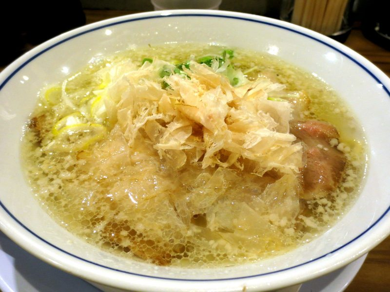 Shio Ramen and Fried Rice Half-Set