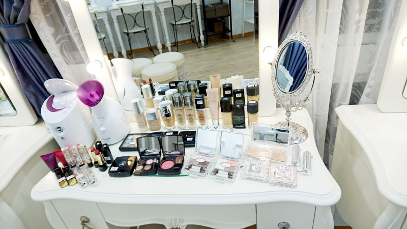 Free rental cosmetics and beauty appliances