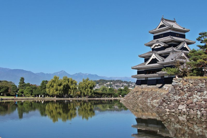 """National Treasure Matsumoto Castle""; an icon of the city"