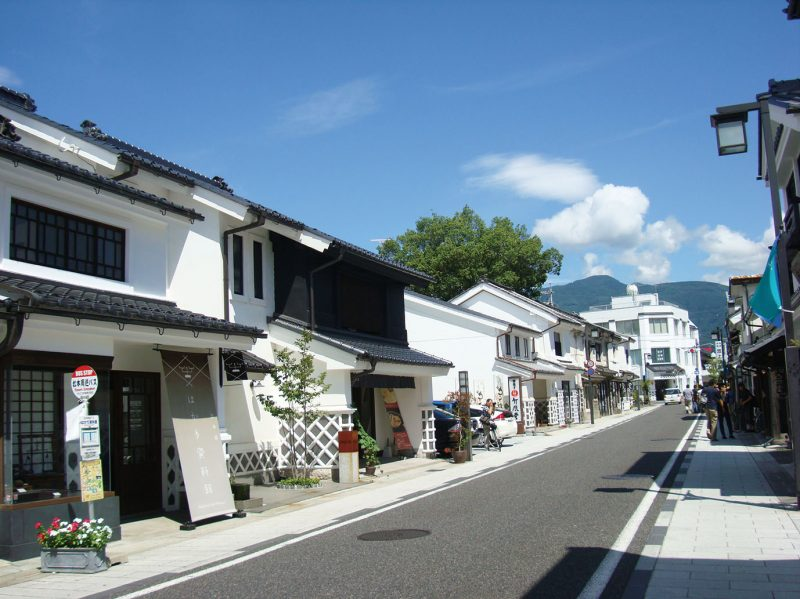 """Nakamachi Dori"" with storehouses"