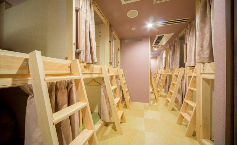 Dormitory Room (Capsule-Style) – 1 Night from 2200 yen