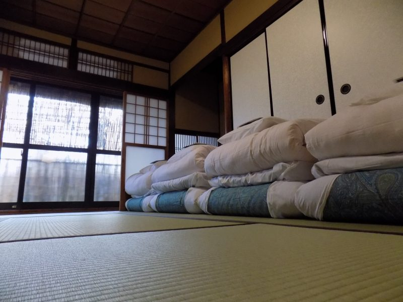 Men-Only Dormitory (Japanese Room)