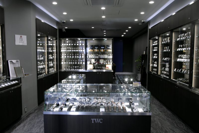TWC The Watch Company Shop Interior