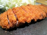 The cleanly cut beef cutlet