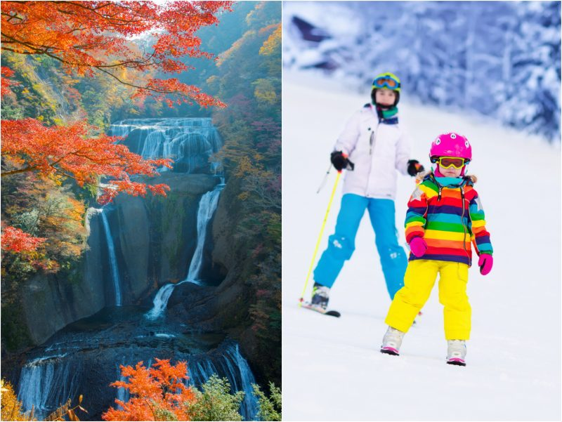 There are Many Ways to Enjoy Autumn and Winter in Japan