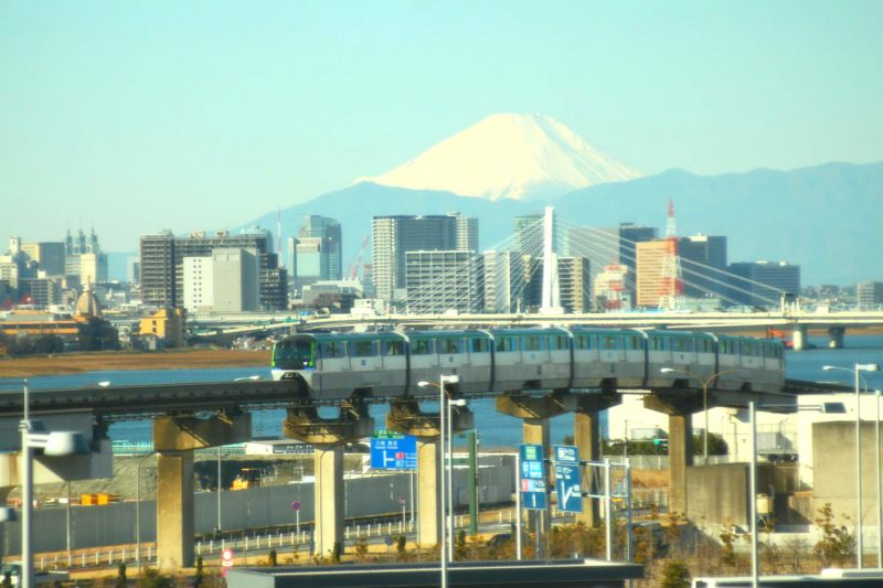 Mt. Fuji is Visible on Clear Days