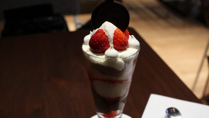 Seasonal Parfait   Strawberry ¥1,620