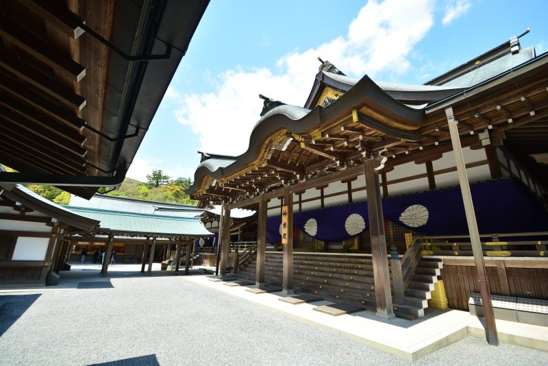 """Ise Jingu"" is Mie Prefecture's pride and joy and a popular tourist spot"