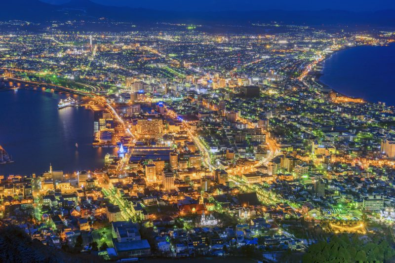 Hakodate has beautiful cityscapes and night views