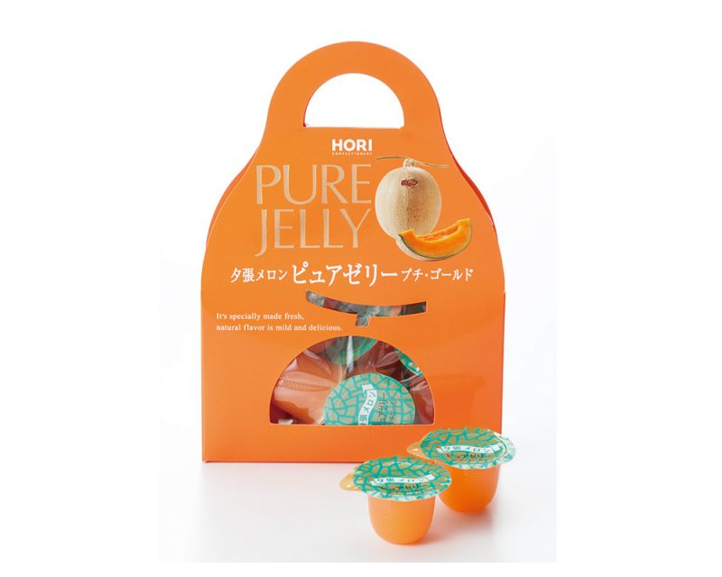 HORI夕張蜜瓜果肉PURE JELLY Petit·Gold