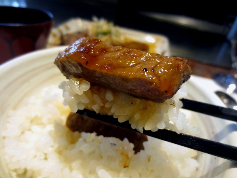 The combination of meat and rice is just the best!