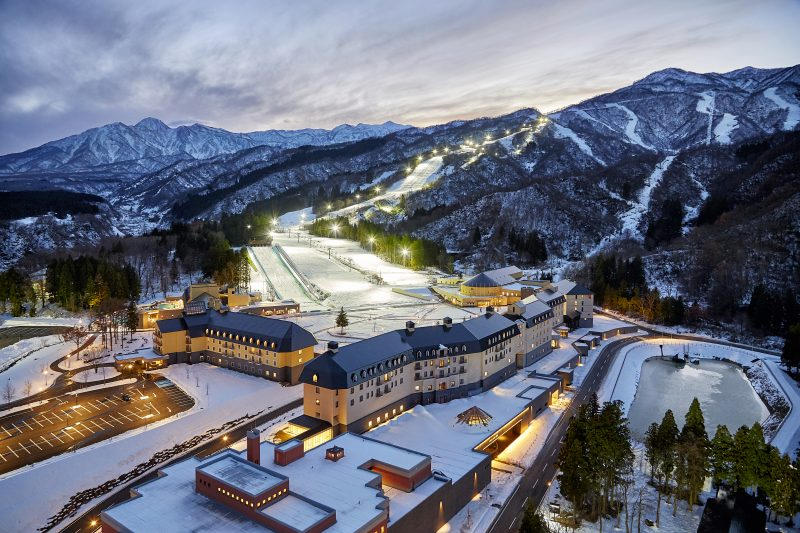 Get the full resort experience at the ski resort and hotel complex.