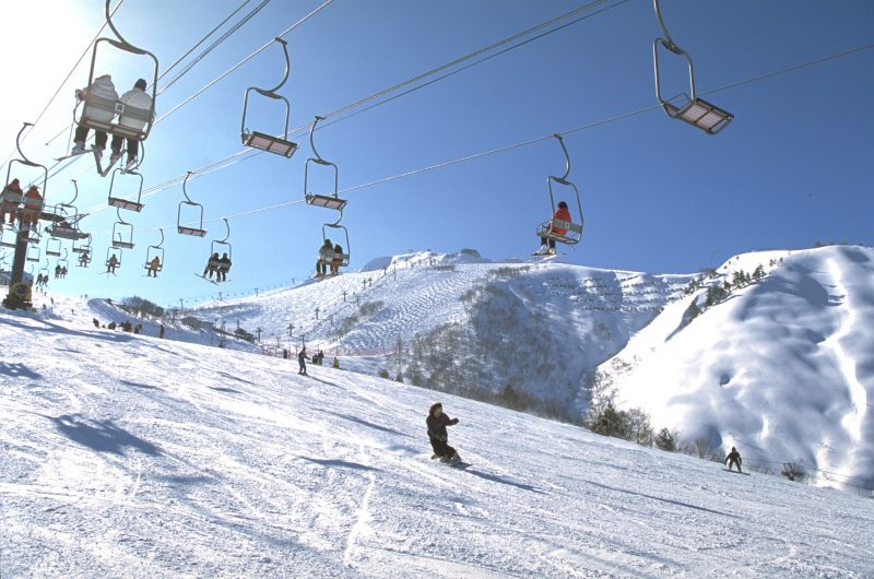 Advanced skiers can challenge themselves on the Olympic Course.