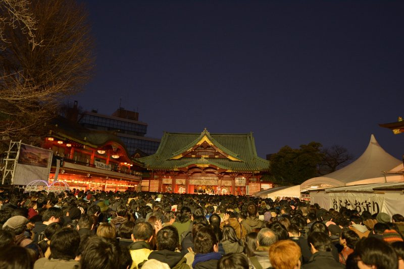 Kanda Shrine at New Year's