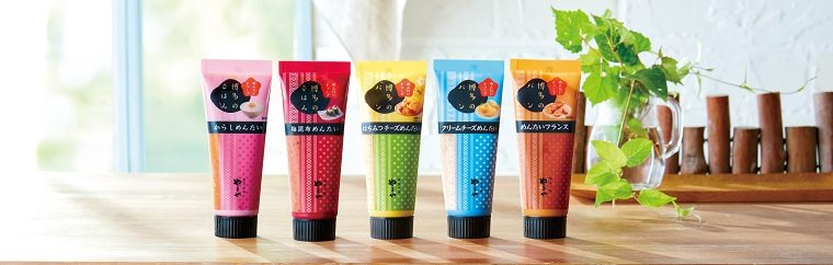 "Hakata Station's Ming Department Store, the largest souvenir shop in Kyushu, recently held a runoff contest to choose the best souvenir of 2018. Mention ""Hakata"" and its famous mentaiko (salted spicy pollack roe) will come to mind for many in Japan. The first-place winner in this contest was this ""Mentai Tube"" 5-piece set!"