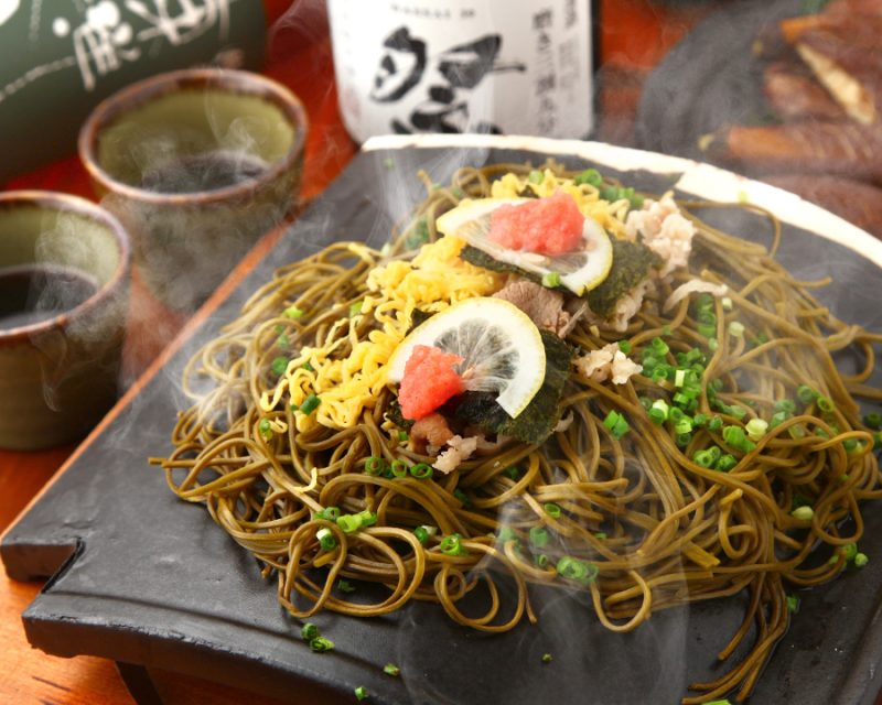 """Kawara soba"" *The above photo is an image."