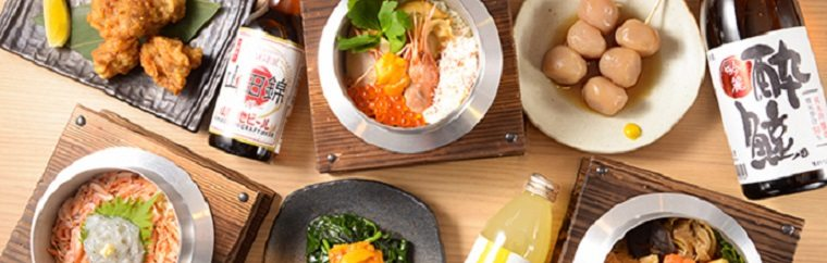 This restaurant offers ingredients and dishes gathered in Japan by Rurubu's travel editors. Taste local delicacies from all around the country, including their Kamameshi, a rice dish made in a variety of ways. In March of 2019, Rurubu Kitchen opened in Ekimise, a shopping mall directly connected to Asakusa Station.