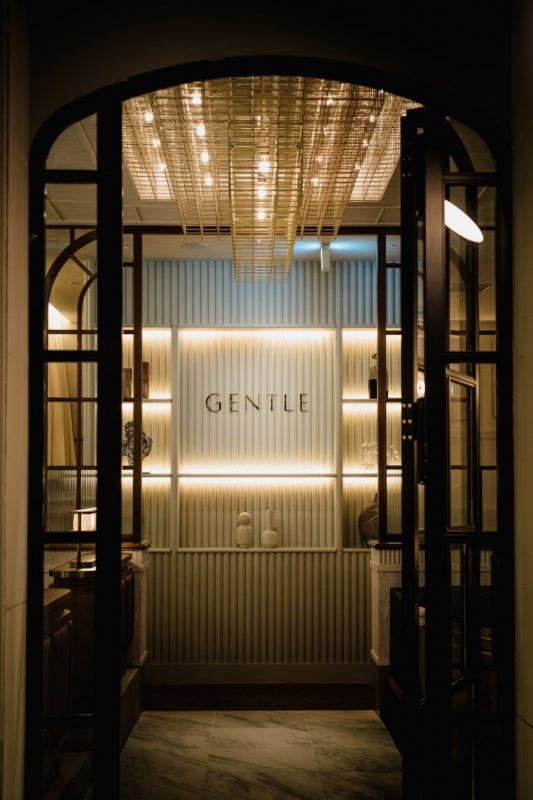 """GENTLE,"" opened in July of 2019v"